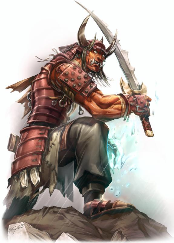 Pathfinder Hobgoblin Monk Jade Regent – Forest...