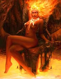 Pele, Goddess of Fire and Wrack