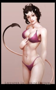 Lavender_Lil_Bikini_Edition_by_Ruloc