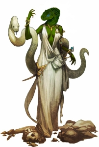 Samaritha the Serpentfolk